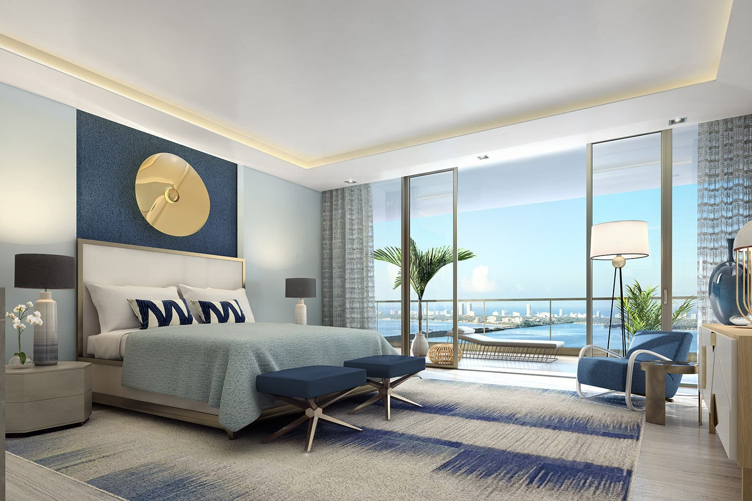 Owners' Suite Envisioned by Jean-Louis Deniot