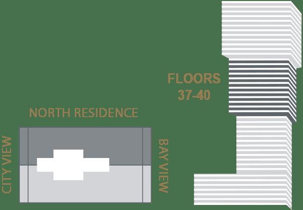 Elysee Edgewater Floor Plan Key K