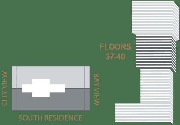 Elysee Edgewater Floor Plan Key I
